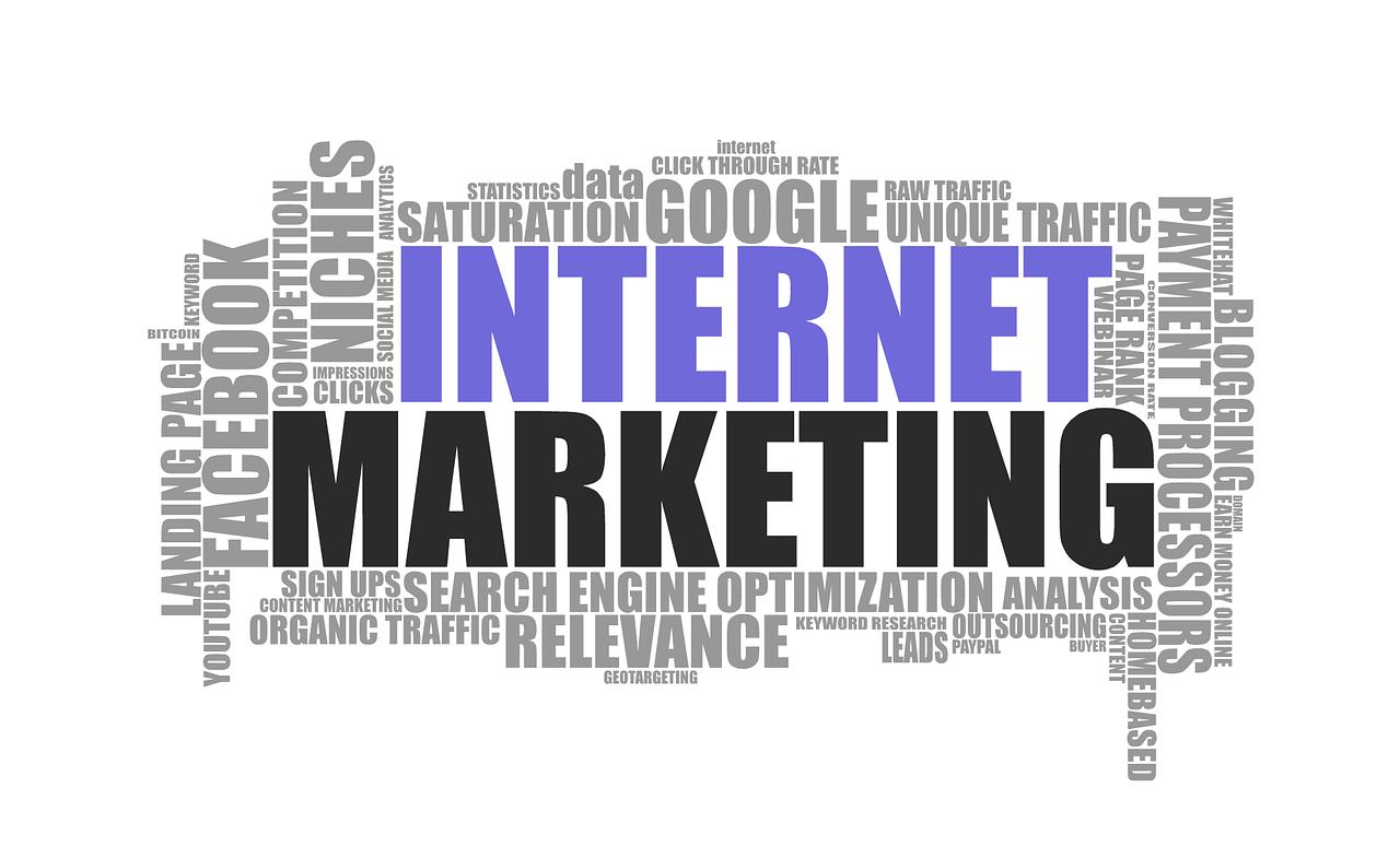 internet-marketing word cloud