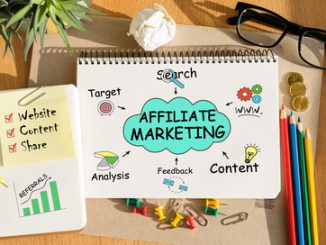 Affiliate marketing notepad