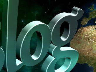Blog and globe